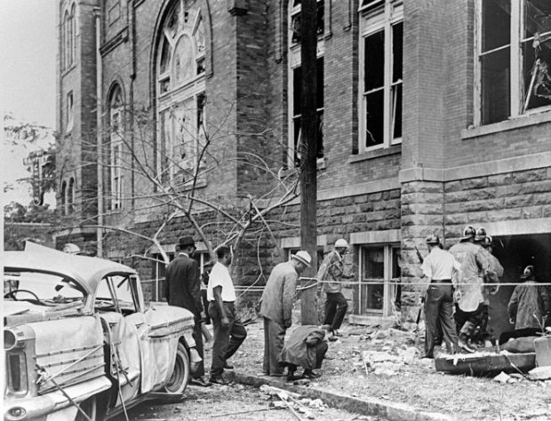 16th St. Baptist Church after the bombing